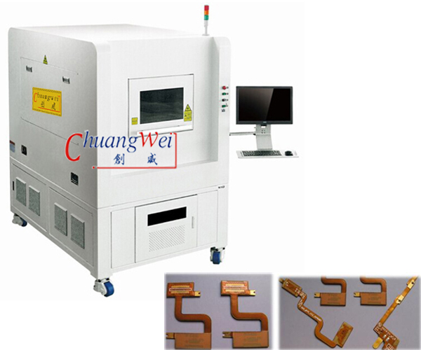 Laser Cutting PCB Depaneling Machine,17 Watt UV Laser Cutter,CWVC-5L
