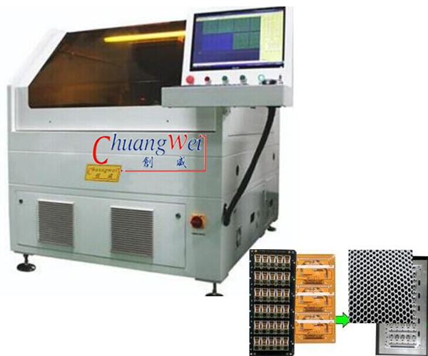 Mobile Phone pcb depanelizer,CWVC‐5S
