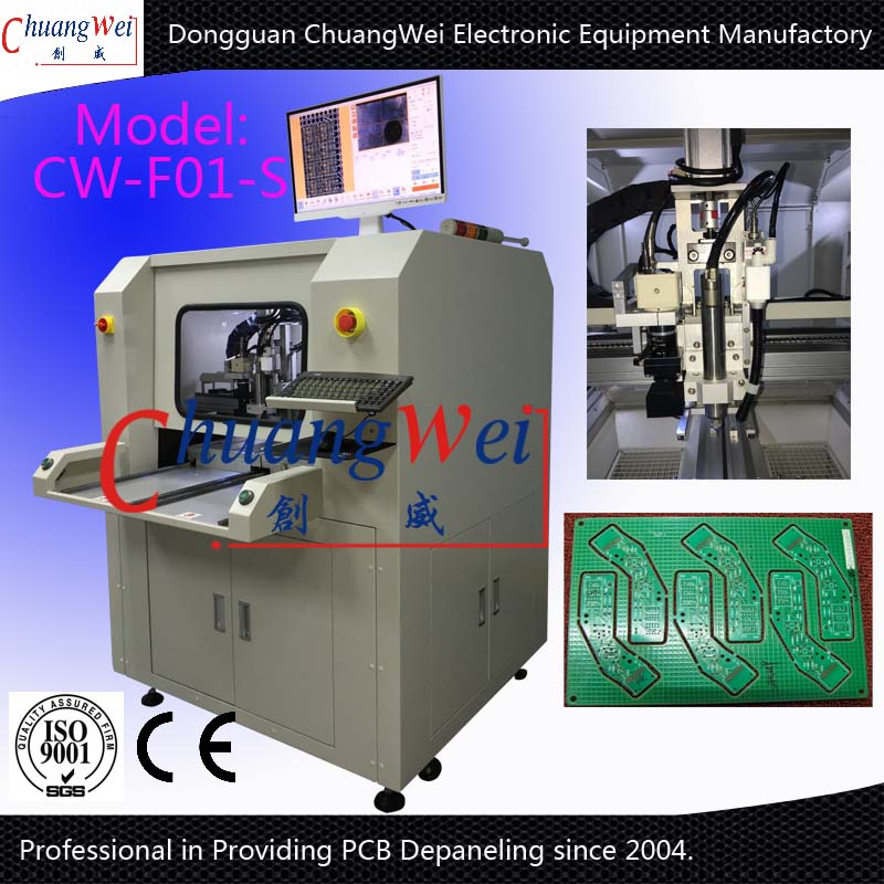 PCB CNC Routing Machine-Circuit Boards Depanelizer,CW-F02