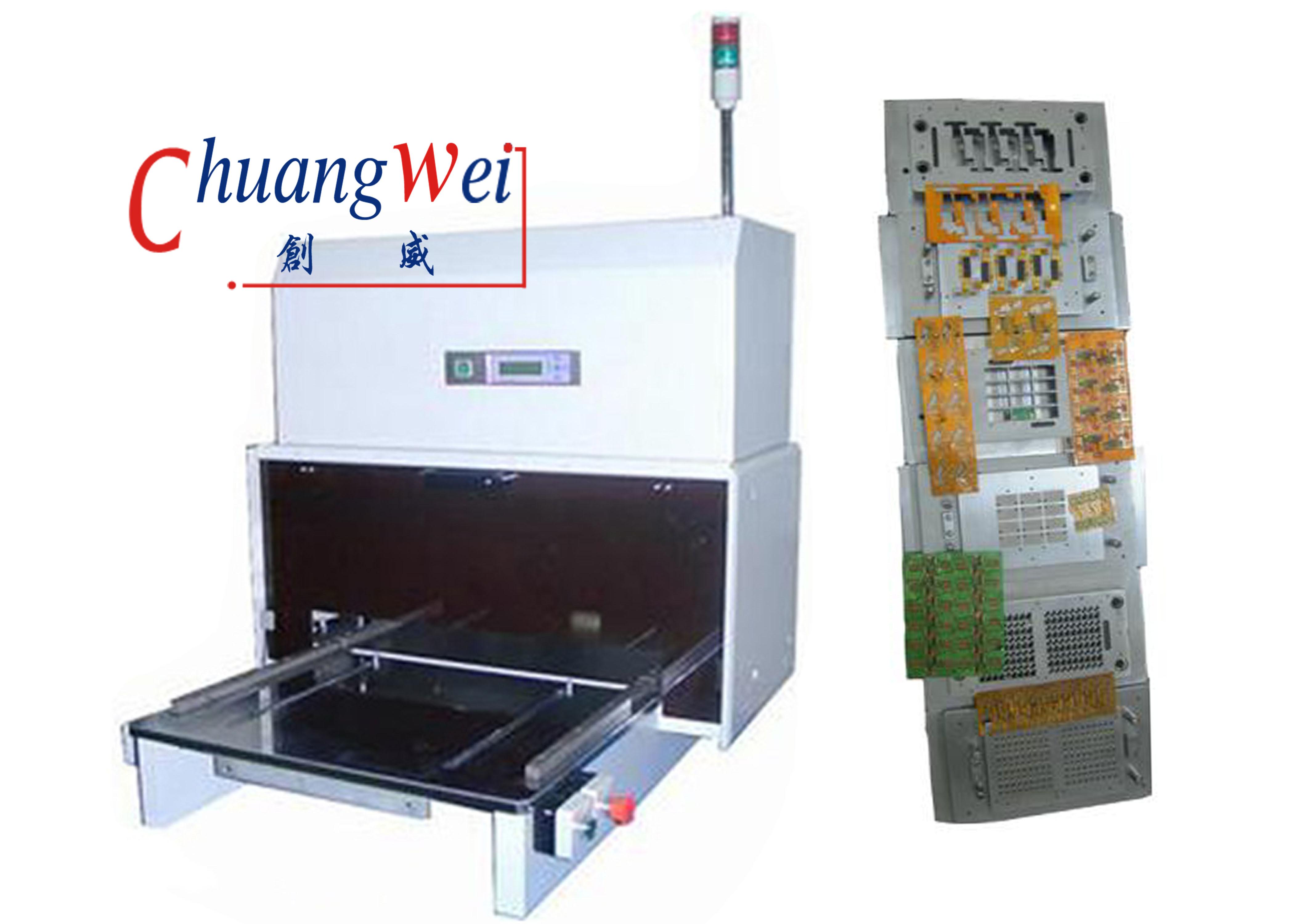 Pcb Punching Machine China Automatic V Cut Singulation For Printed Circuit