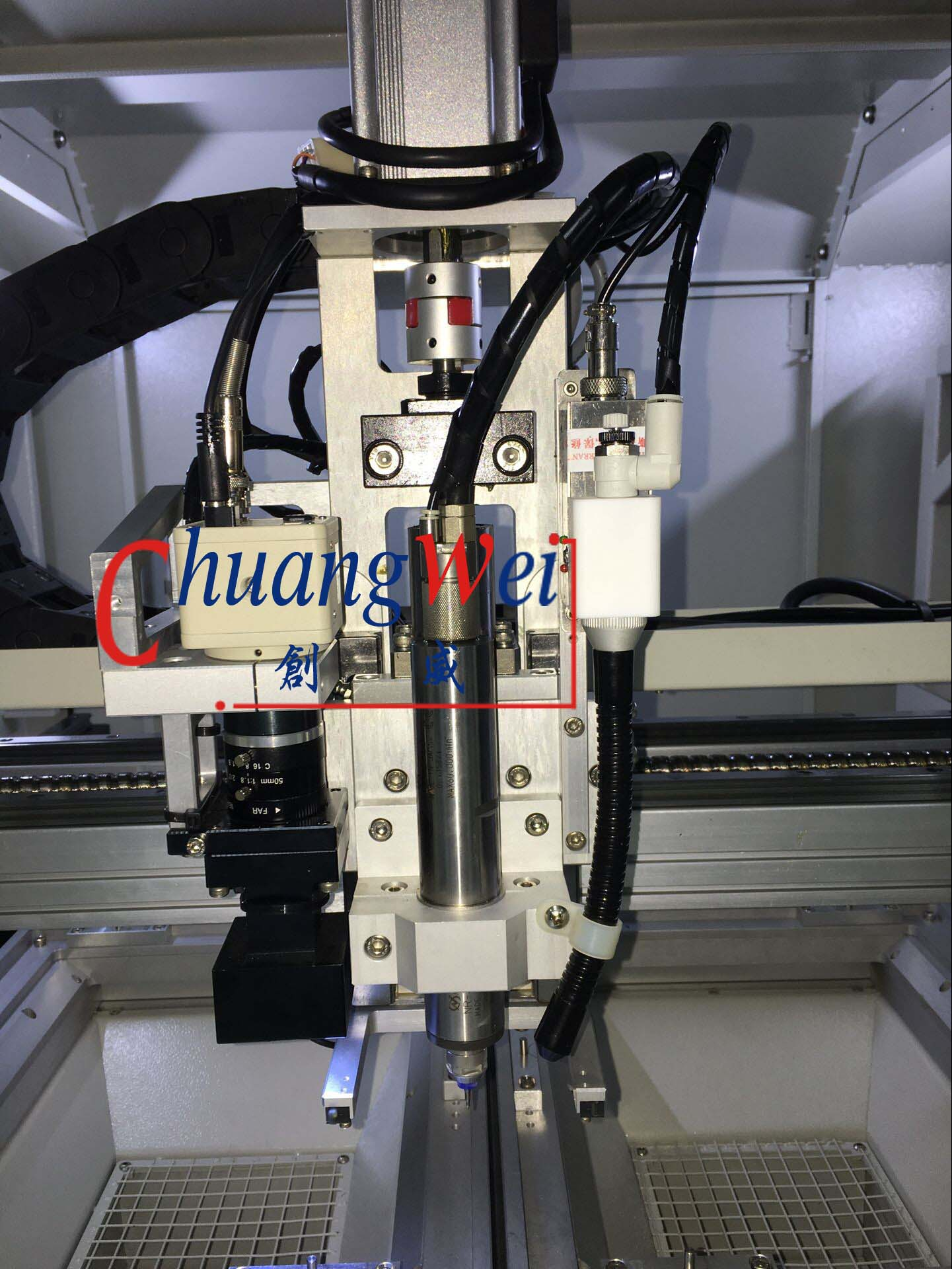 Pcb Router Cutting Circuit Boards Images Of Cw F01 S