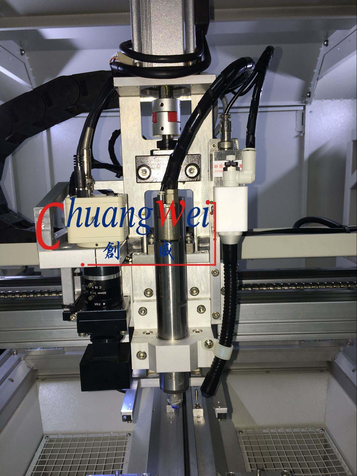 Pcb Cnc Routing Machine China Automatic V Cut Singulation For Printed Circuit Machinecw F02
